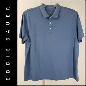 Eddie Bauer Men Short Sleeve Polo Shirt Size XL